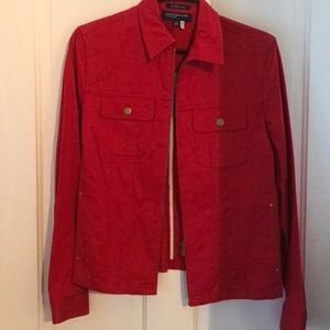 Jones of New York red blazer